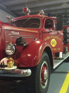 This is the second truck ever purchased by the Sudlersville Volunteer Fire Company.