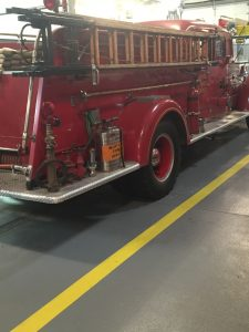 ENG 62 is a 1948 Mack 3 door Pumper it is one of only seven made.