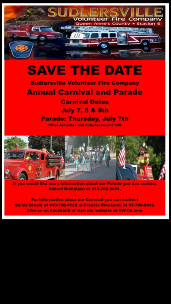 2016 carnival and parade save the date