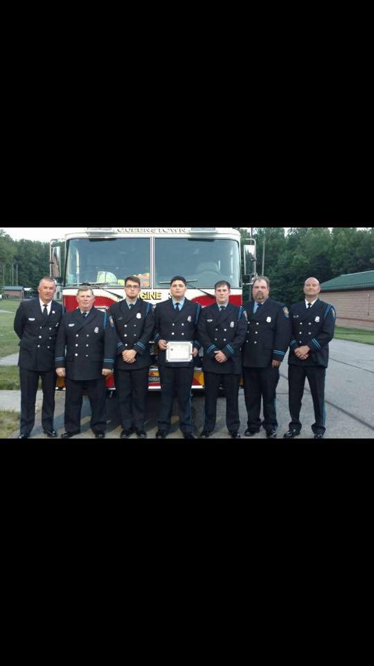 Congratulations to FF Hunter Francis