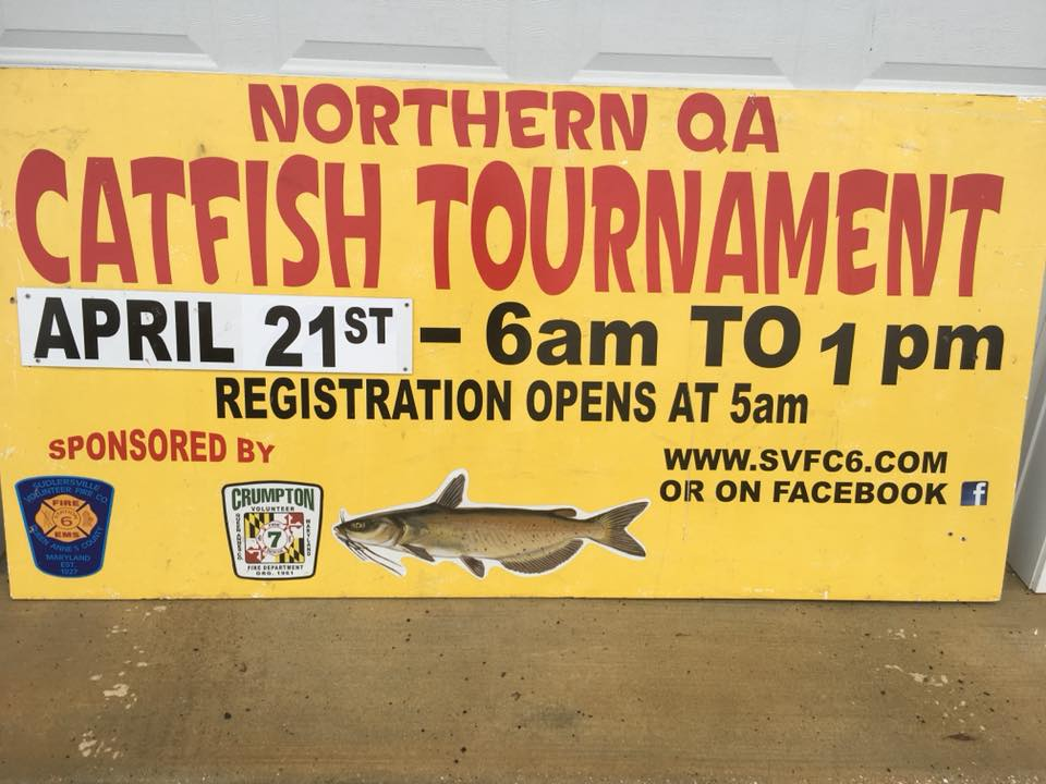 Northern QA Catfish Tournament April 21st
