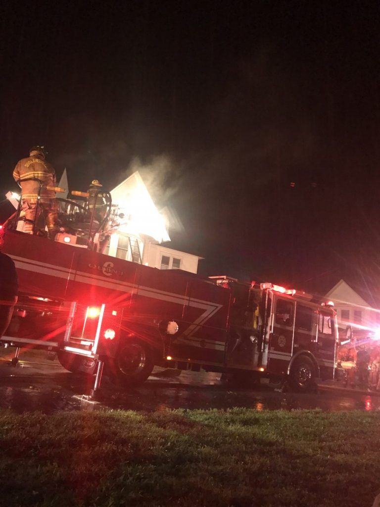 Company 6 Runs First Due Fire